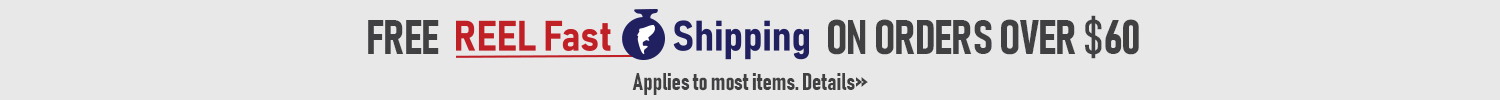 REEL Fast Shipping by FishUSA, America's Tackle Shop