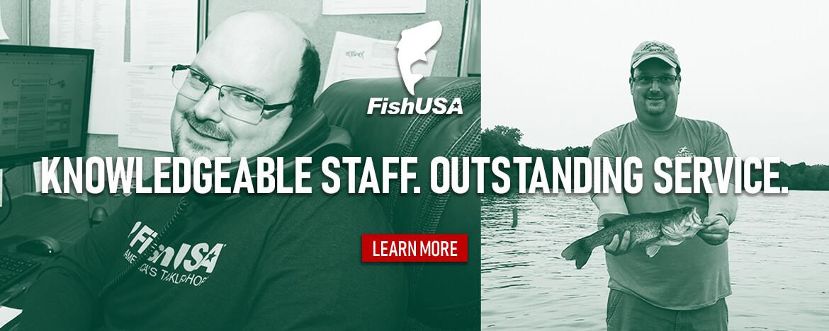 Shop with confidence at FishUSA, America's Tackle Shop!