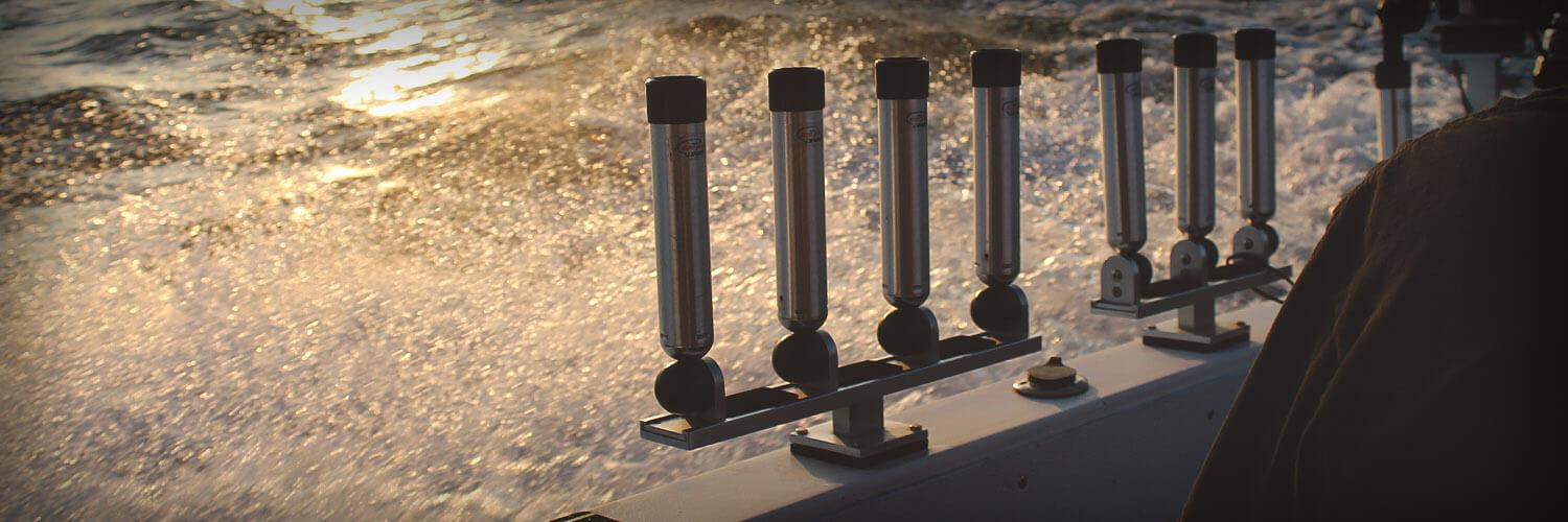 Walleye Rod Holders, Track Systems & Accessories