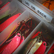 Walleye Gear Storage