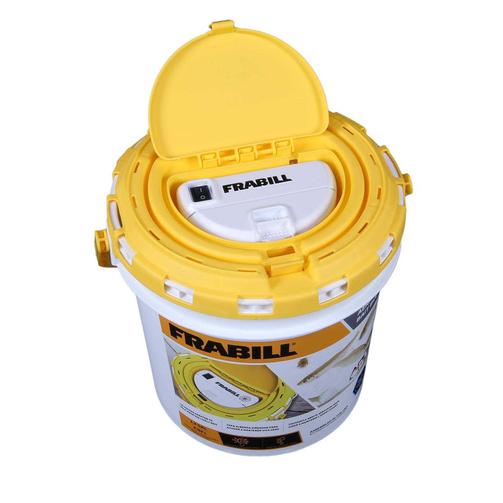 Frabill Insulated Bait Bucket With Aerator Fishusa