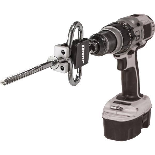 Otter Outdoors Quick Snap Tool with Ice Anchor and Drill (anchor and drill not included)