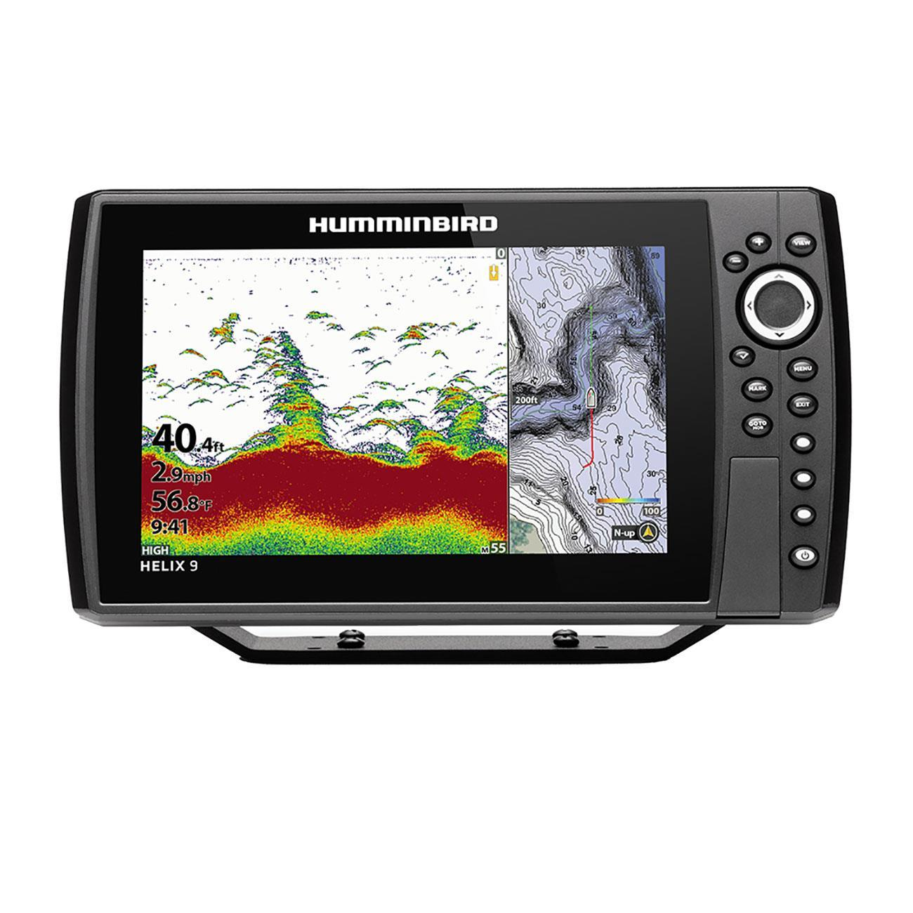 Humminbird 410840-1 Helix 9 Chirp GPS G3N Fishfinder with Bluetooth & Ethernet