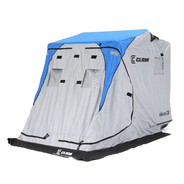 Clam Nanook XL Thermal Ice Shelter Front Right Side View
