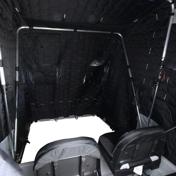 Clam Yukon XL Thermal Ice Shelter Cover Interior