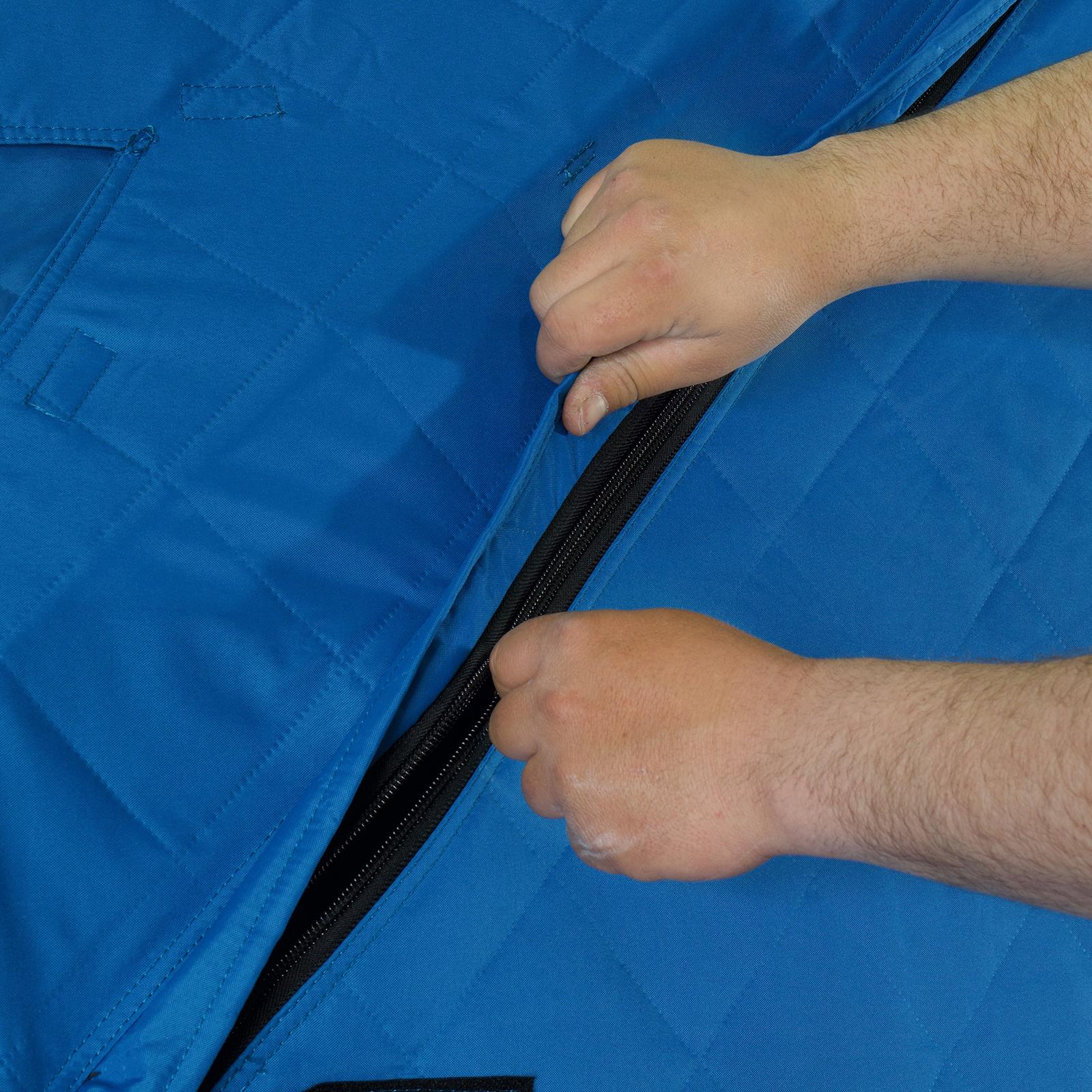 Clam C-360 Thermal Hub Ice Shelter Thermal Zipper