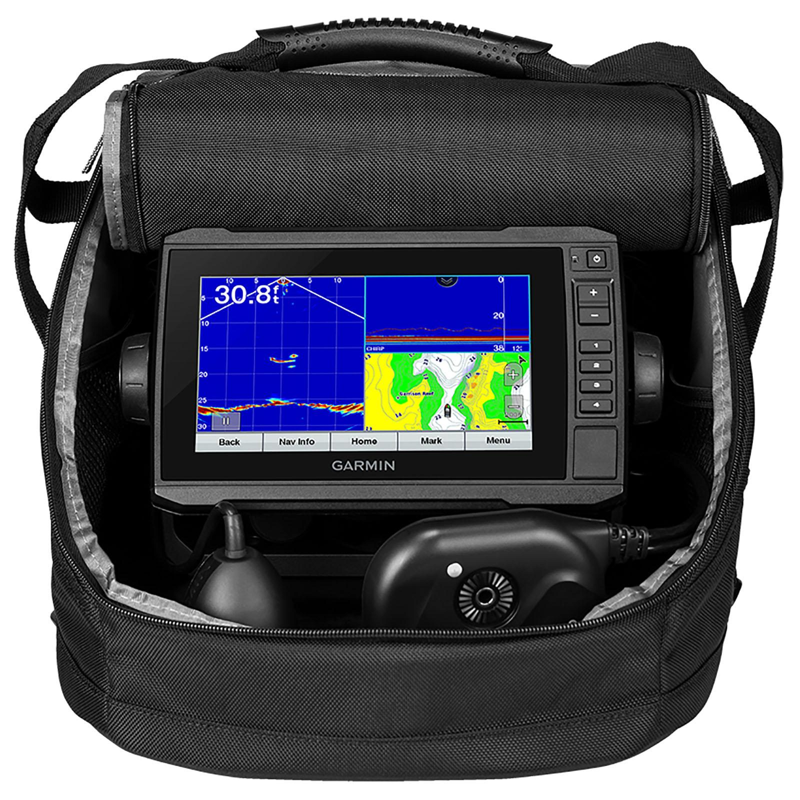 Garmin Panoptix Plus 73cv Ice Fishing Bundle w/ Echomap