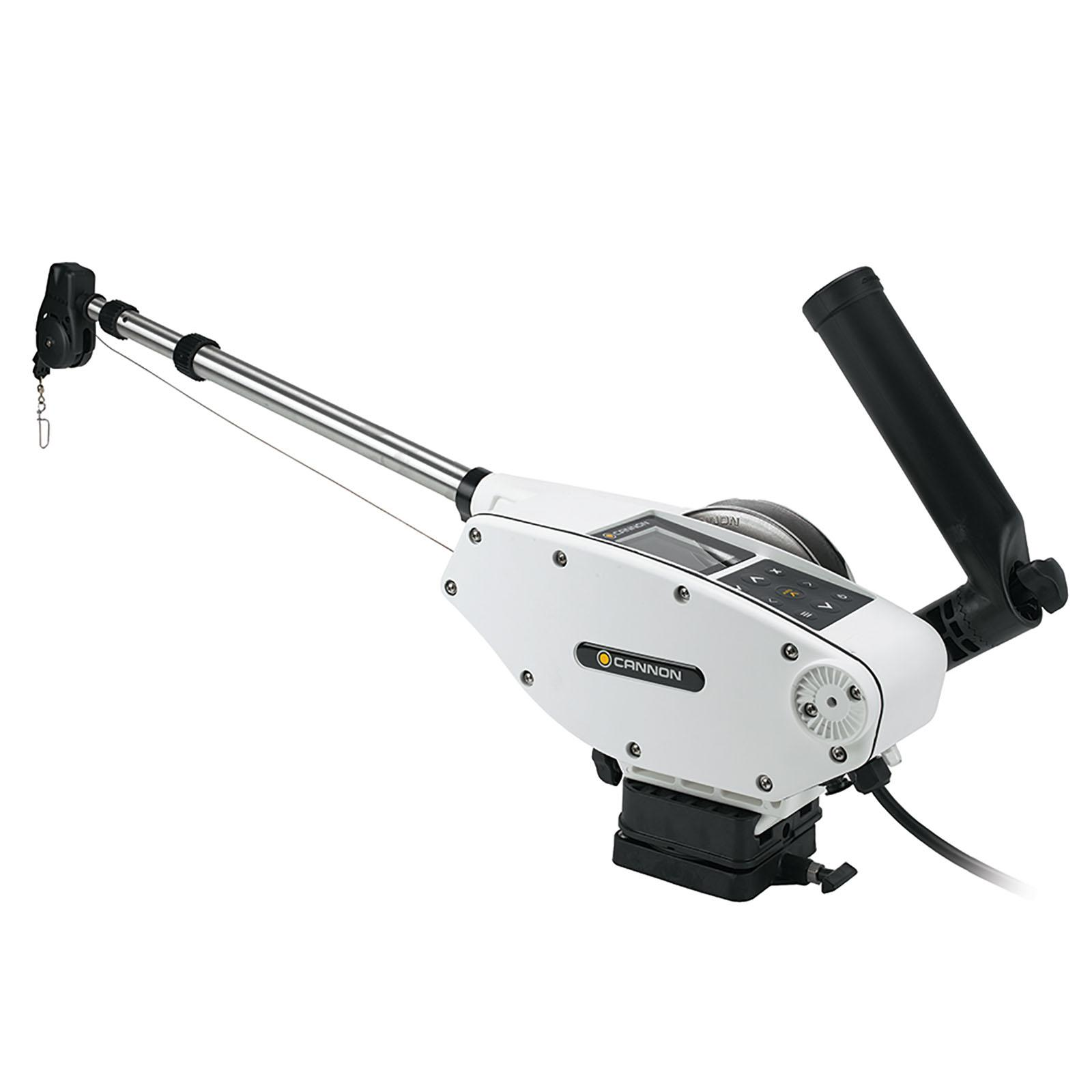 Cannon Optimum 10 Tournament Series BT Electric Downrigger Side View