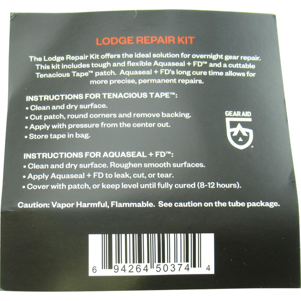 Back of Product Packaging