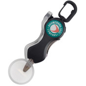 Boomerang Tool Co. Long Snip Cheater Fishing Line Cutter with Magnifying Glass