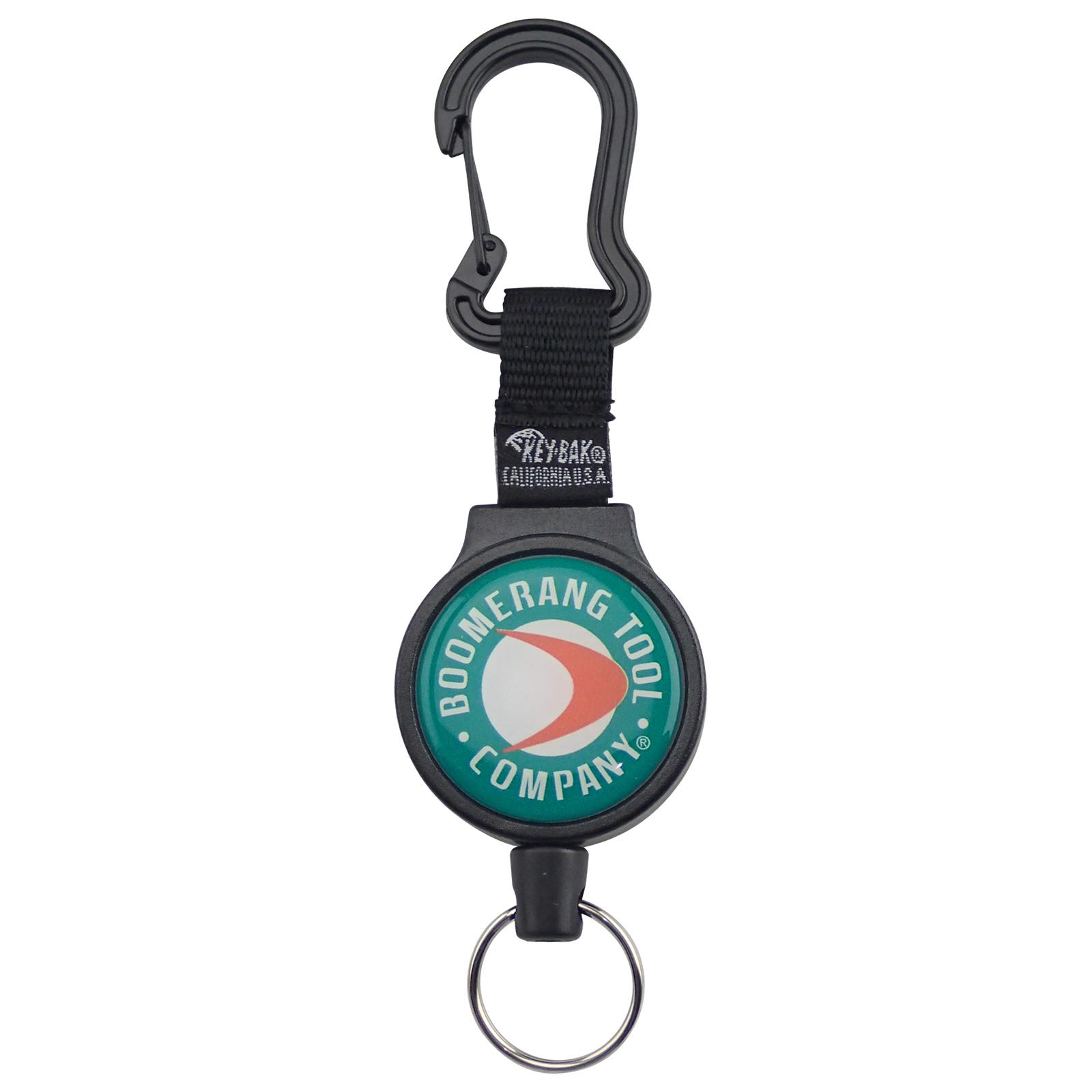 Boomerang Tool Co. Heavy-Duty Fishing Zinger with Carabiner