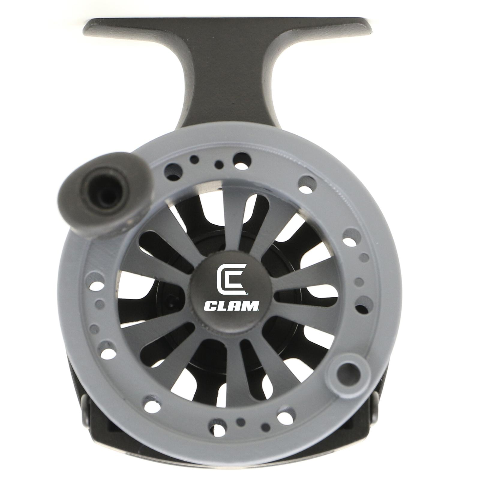 Clam Straight Drop Ice Reel