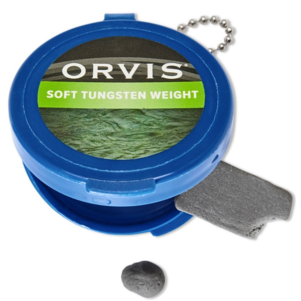 Orvis Soft Tungsten Weight Opened