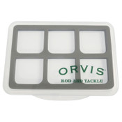 Orvis Super Slim Shirt Pocket 6-Compartment Fly Box
