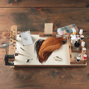 Orvis Fly Tying Work Center In Use