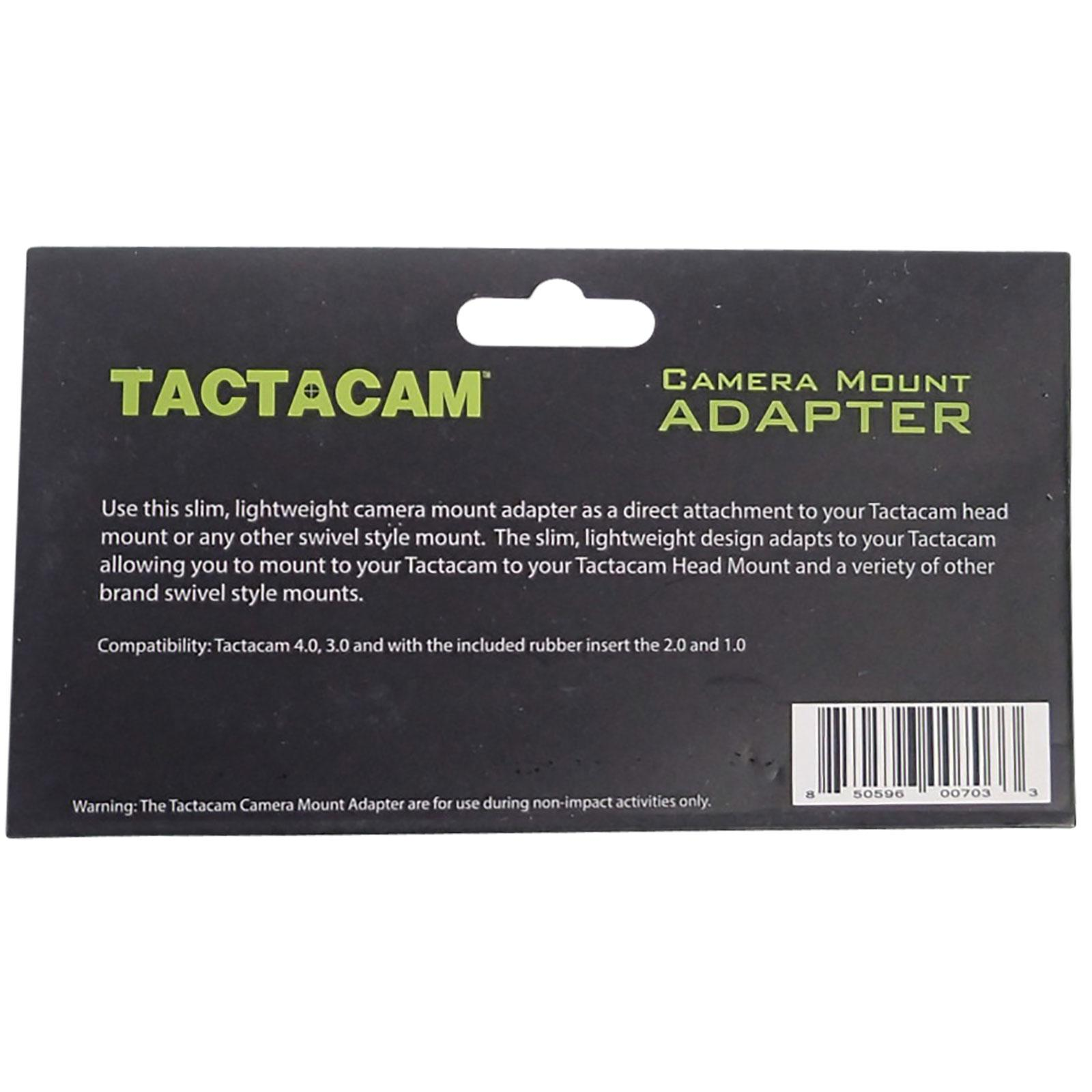 Tactacam Universal Round Mount Attachment Package Info