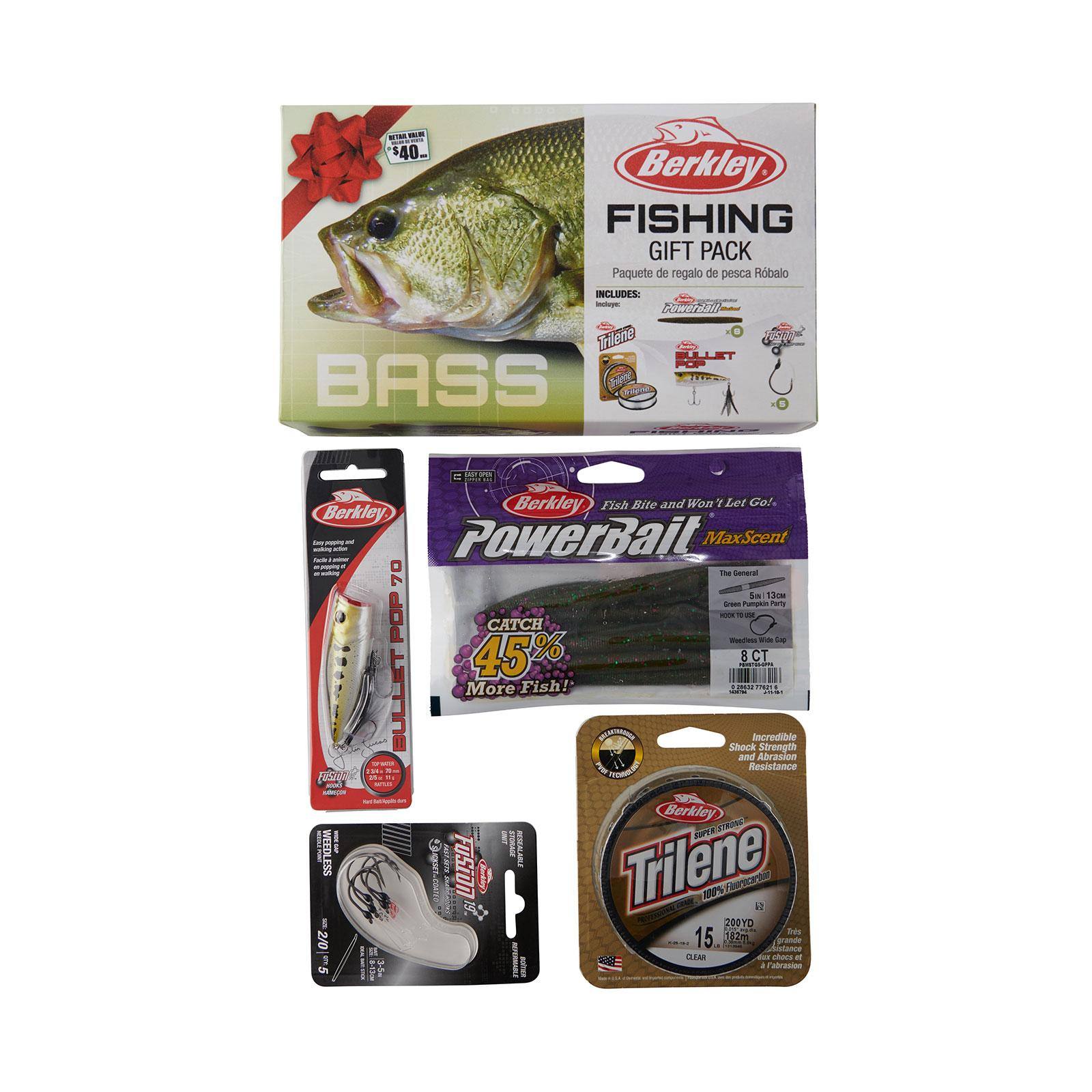 BRKLY BASS FISHING GIFT KIT 20 pkgs
