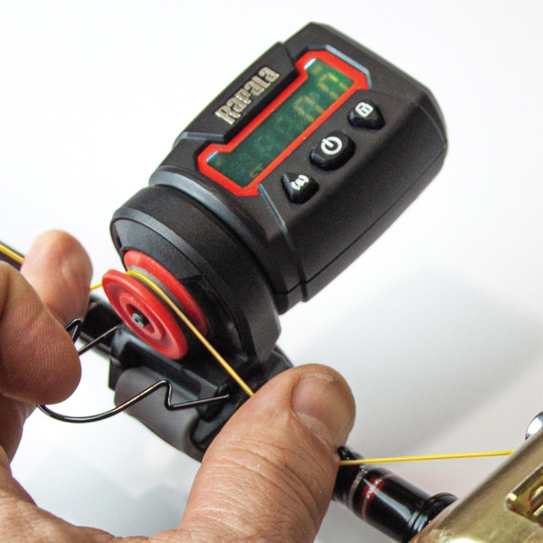 Rapala Digital Line Counter In Use