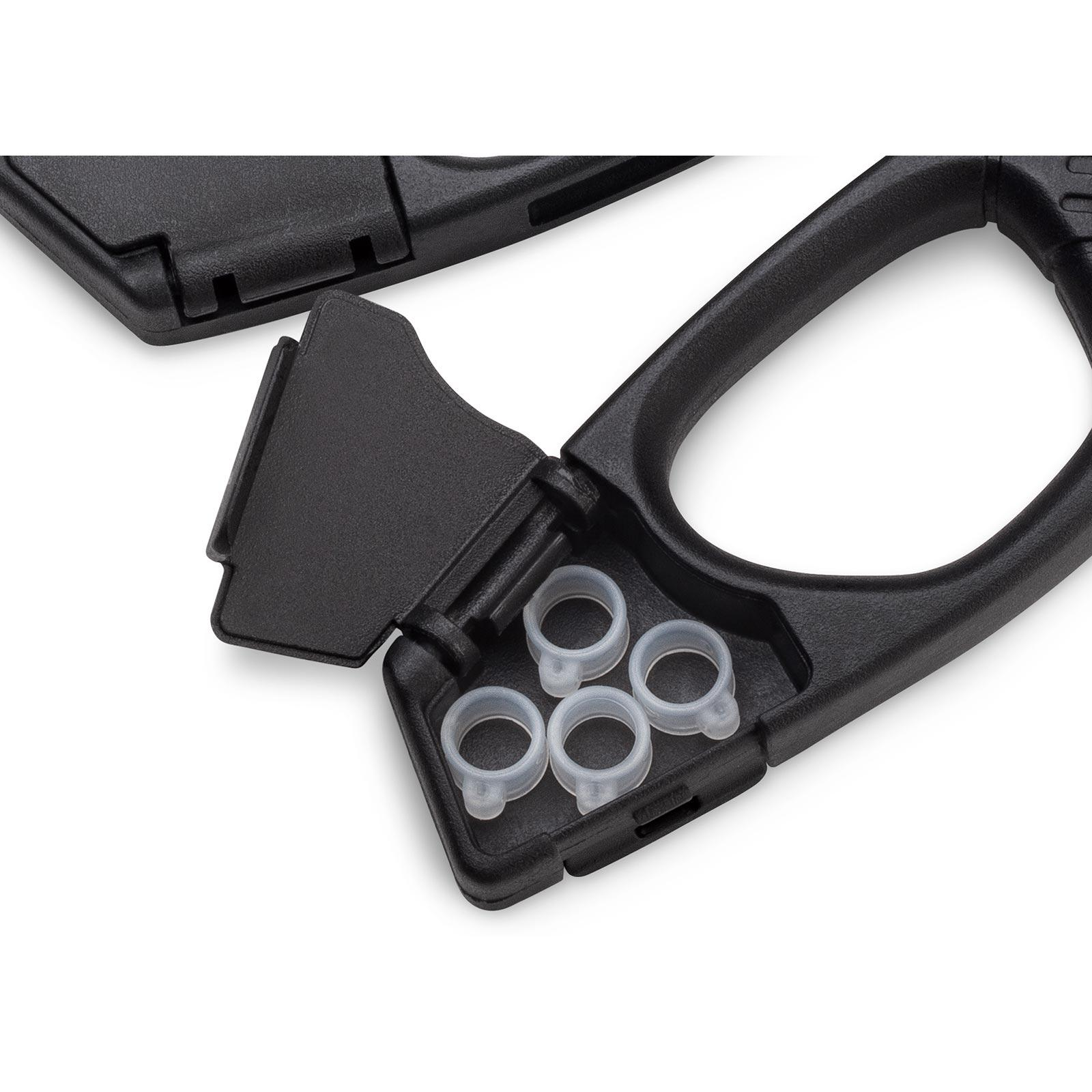 VMC Crossover Pliers for Neko and Wacky Rigging Handle Storage