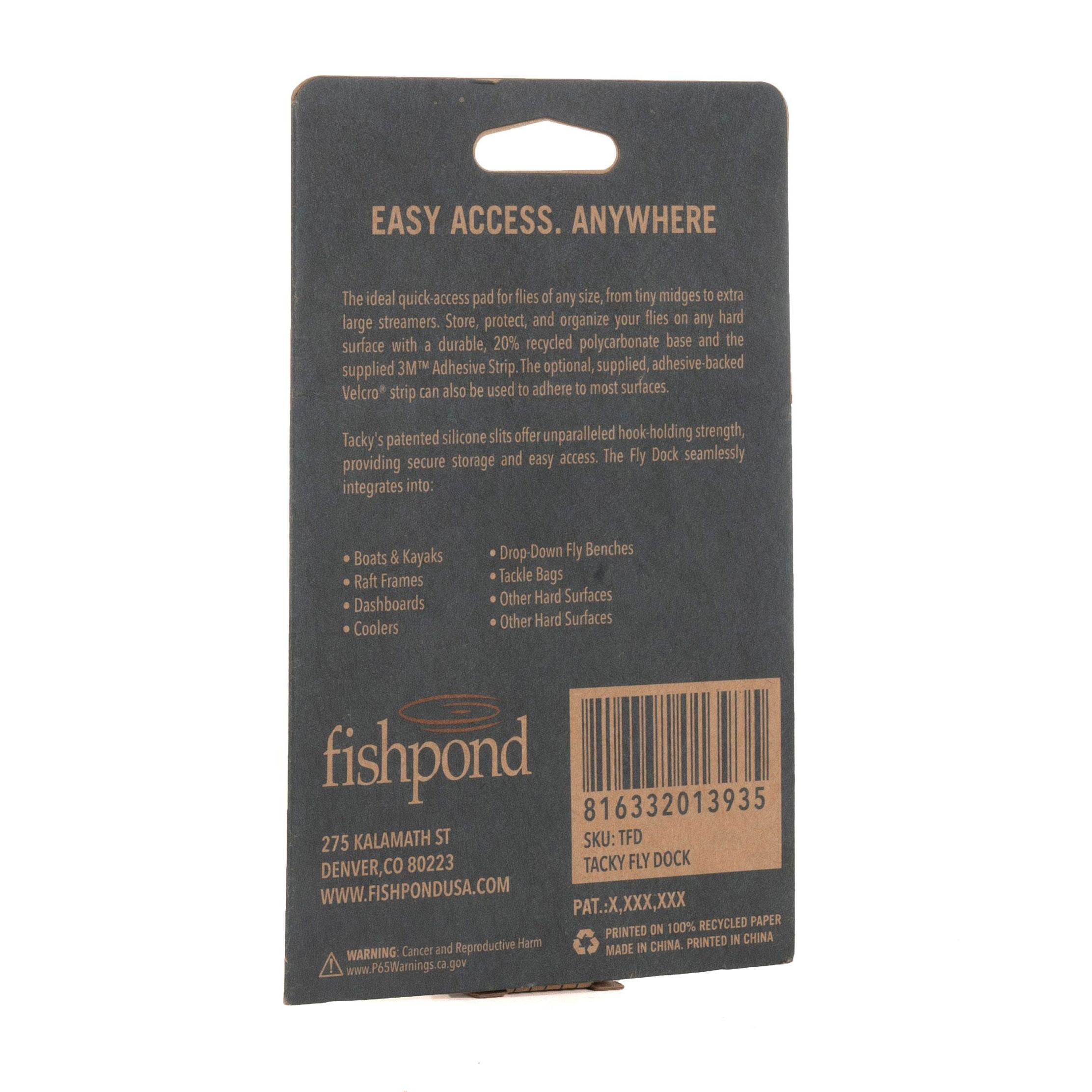 Fly Dock Package Back