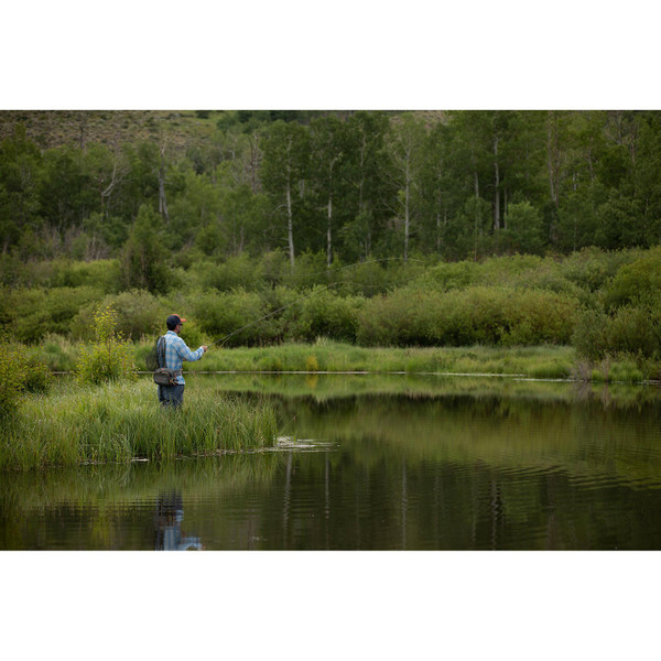 Fishpond Men's Switchback Pro Wading System In Use View