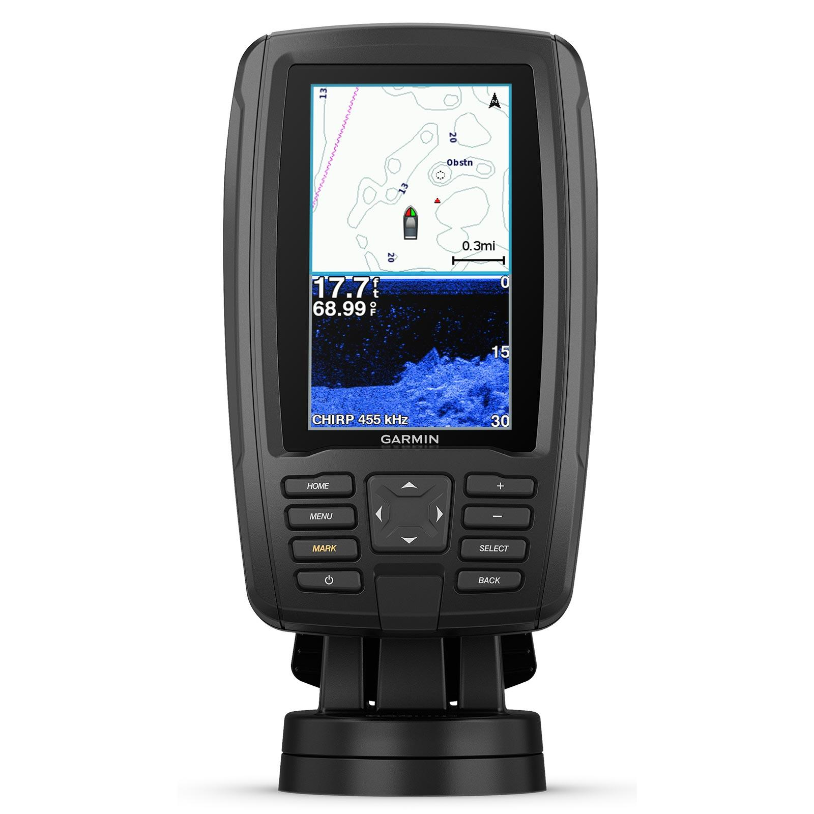 Garmin ECHOMAP Plus 44cv with GT20 Transducer
