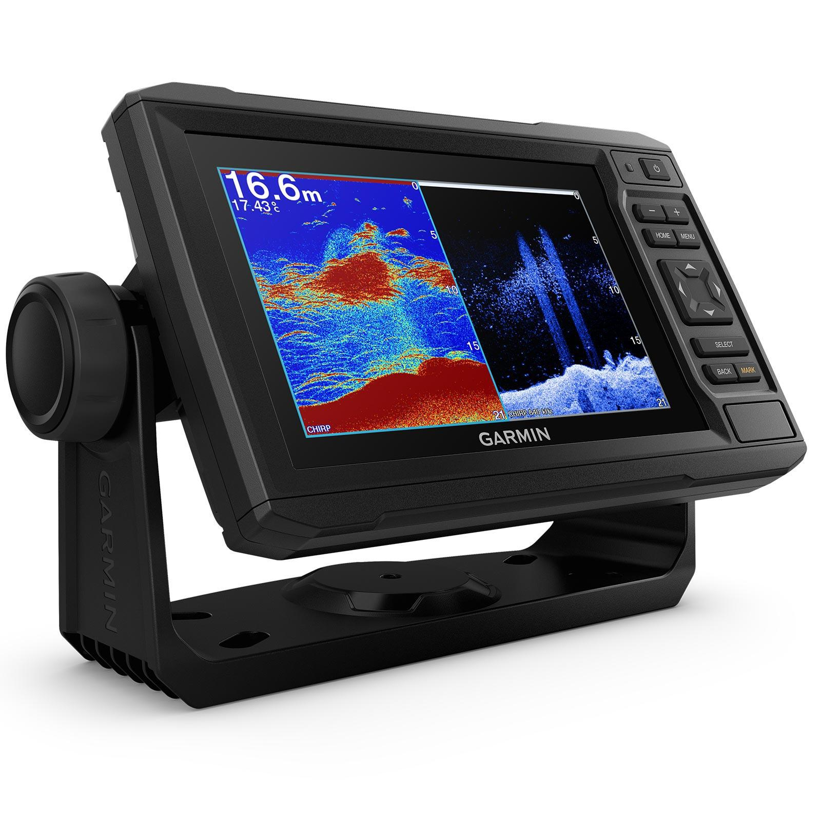Garmin ECHOMAP UHD 62cv without Transducer Split Screen