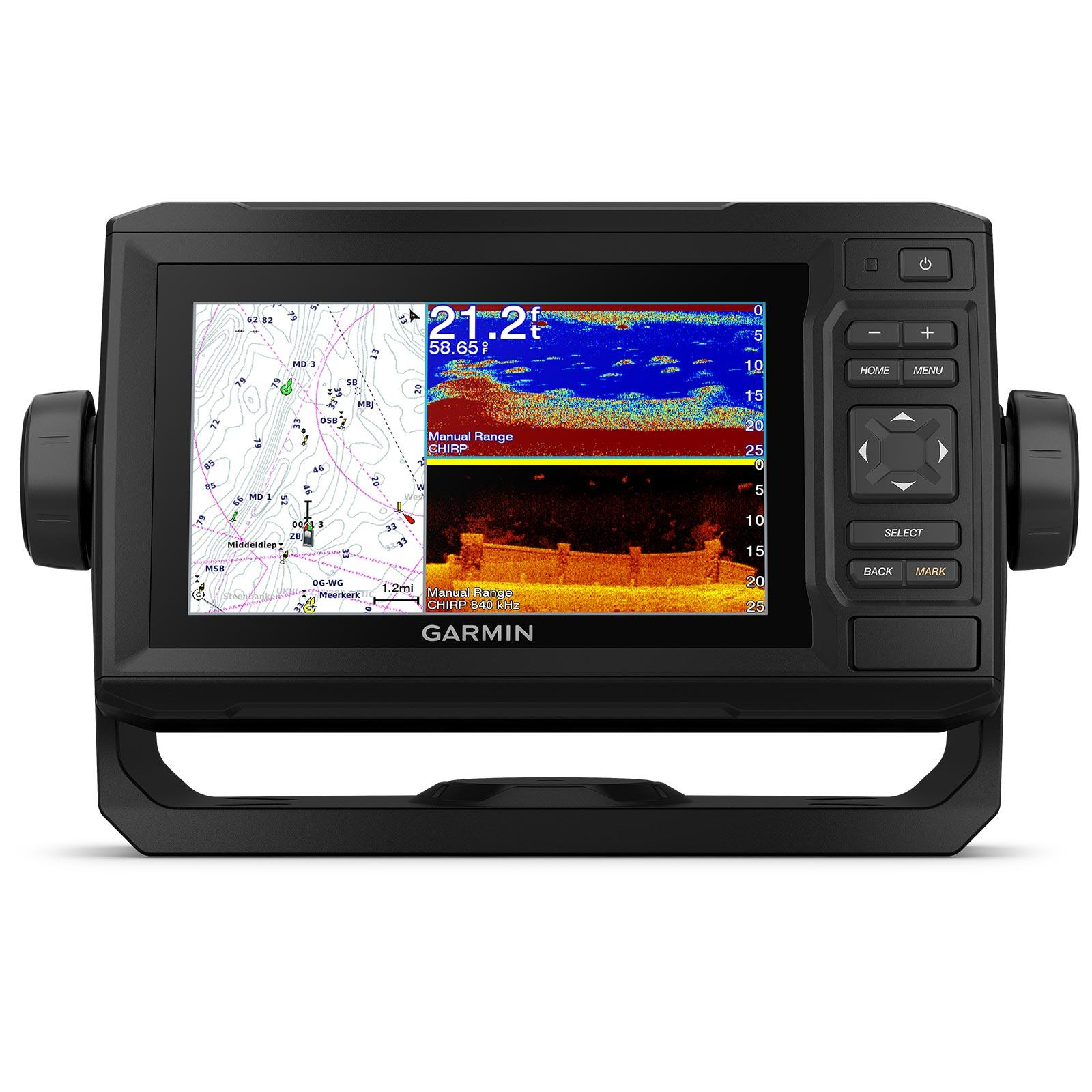 Garmin ECHOMAP UHD 64cv with GT24UHD-TM Transducer