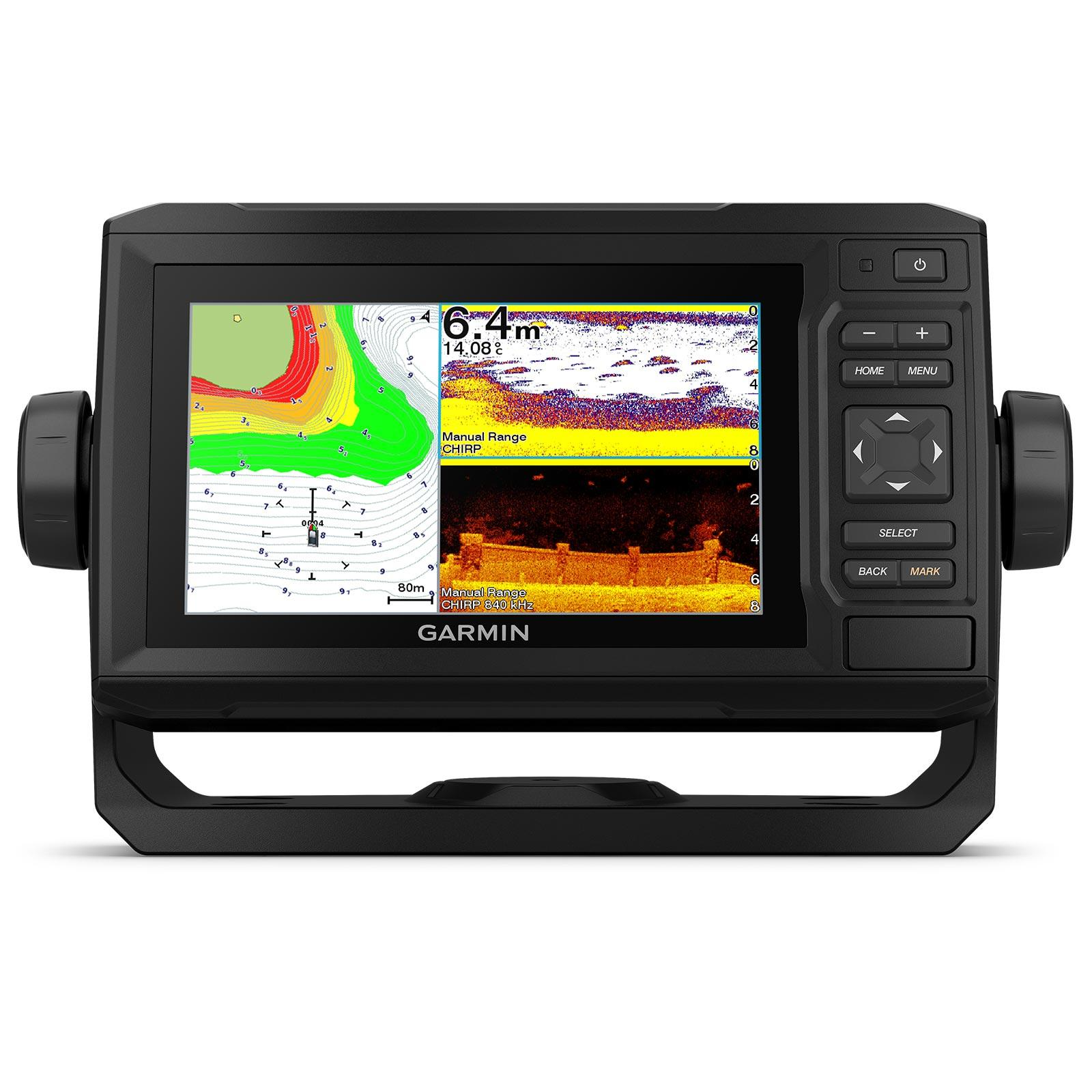 Garmin ECHOMAP UHD 65cv with GT24UHD-TM Transducer