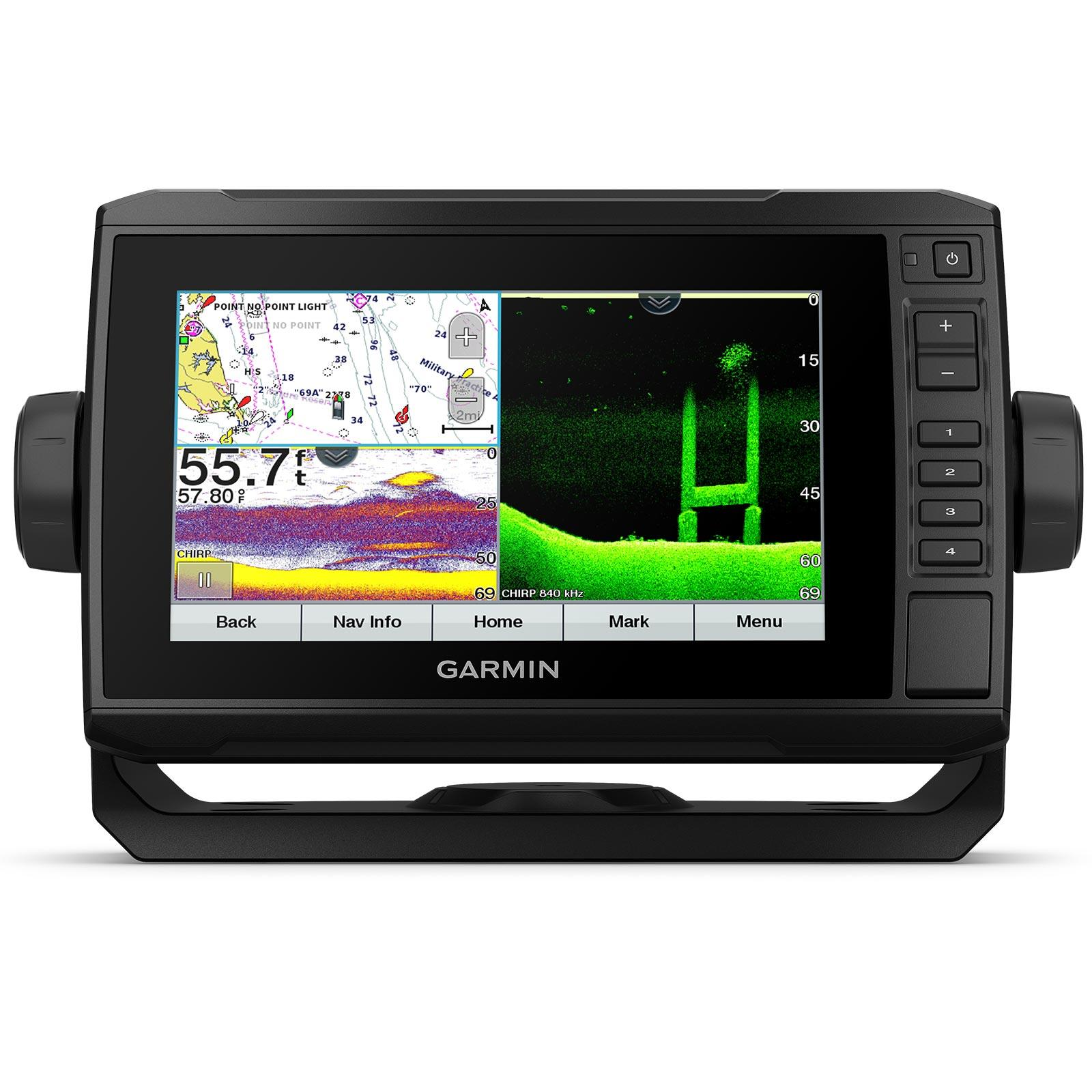 Garmin ECHOMAP UHD 72cv with GT24UHD-TM Transducer