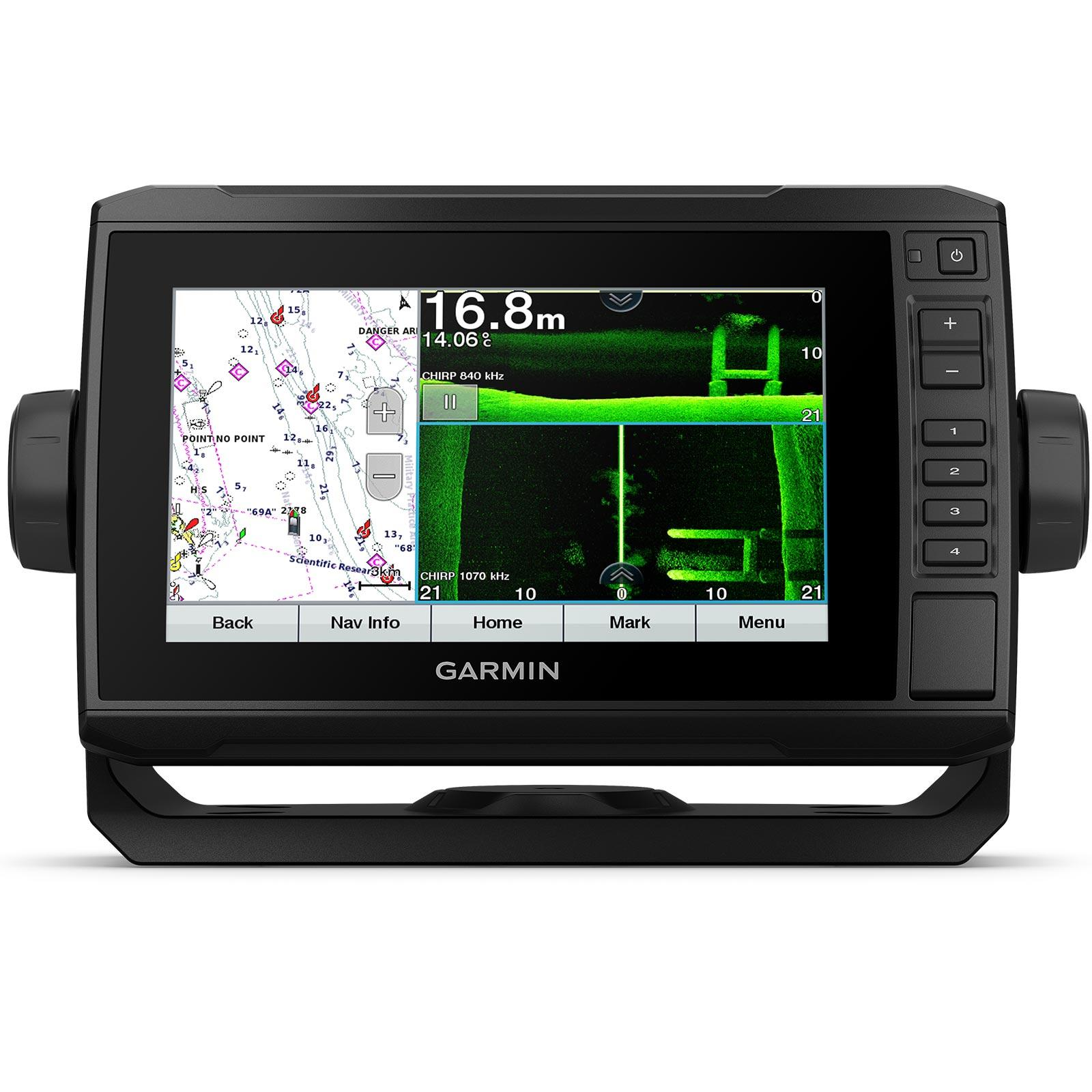 Garmin ECHOMAP UHD 72sv with GT56UHD-TM Transducer
