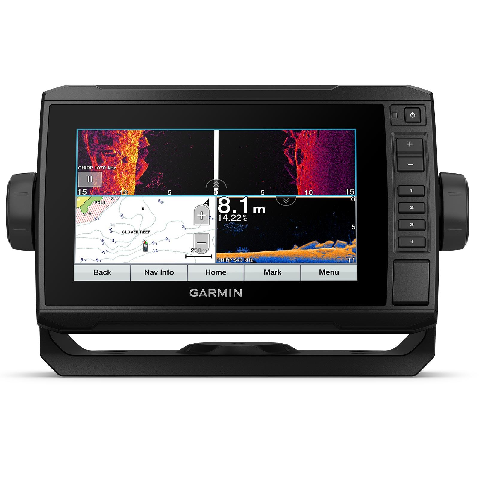 Garmin ECHOMAP UHD 72sv with GT56UHD-TM Transducer Multi-Screen