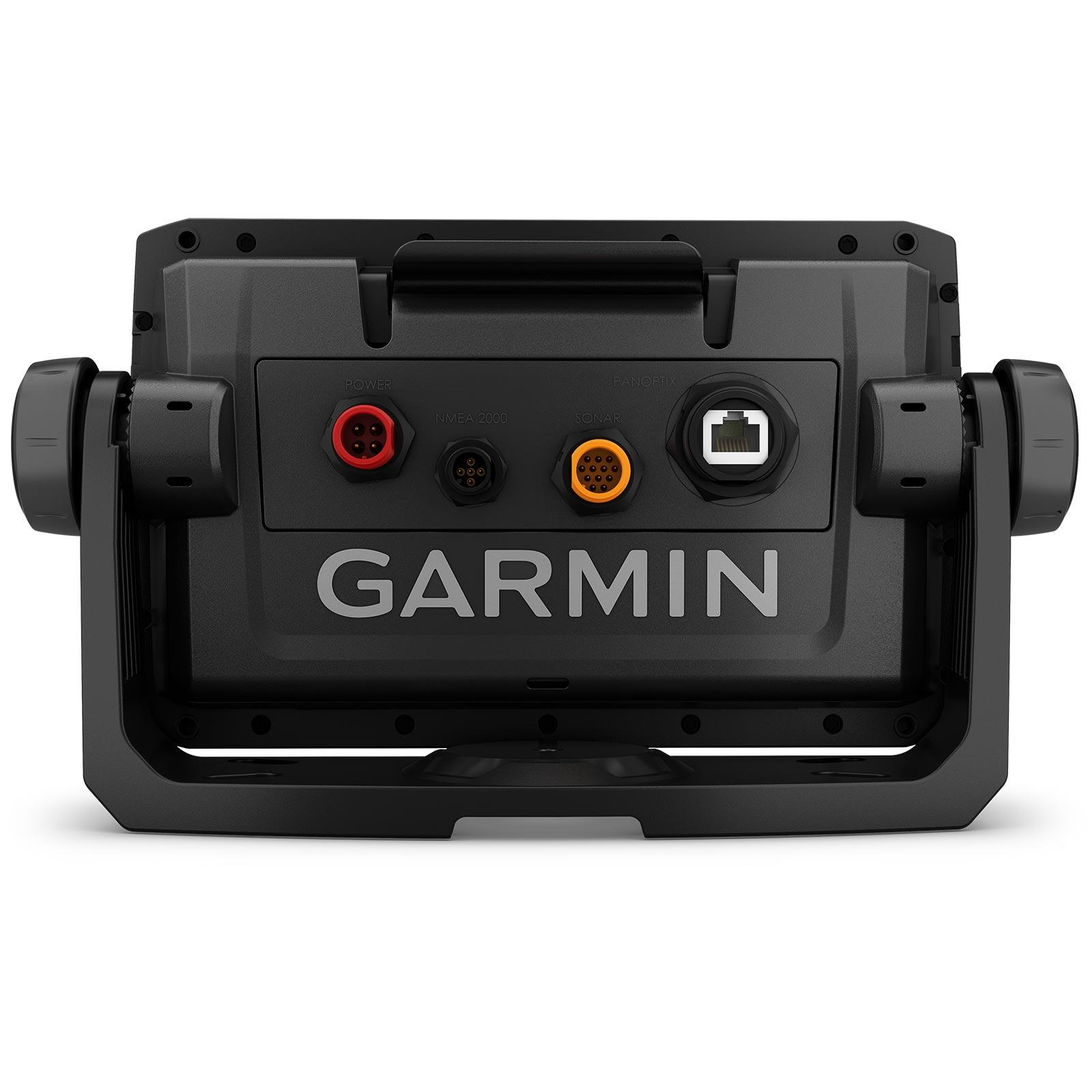 Garmin ECHOMAP UHD 72sv with GT56UHD-TM Transducer Back