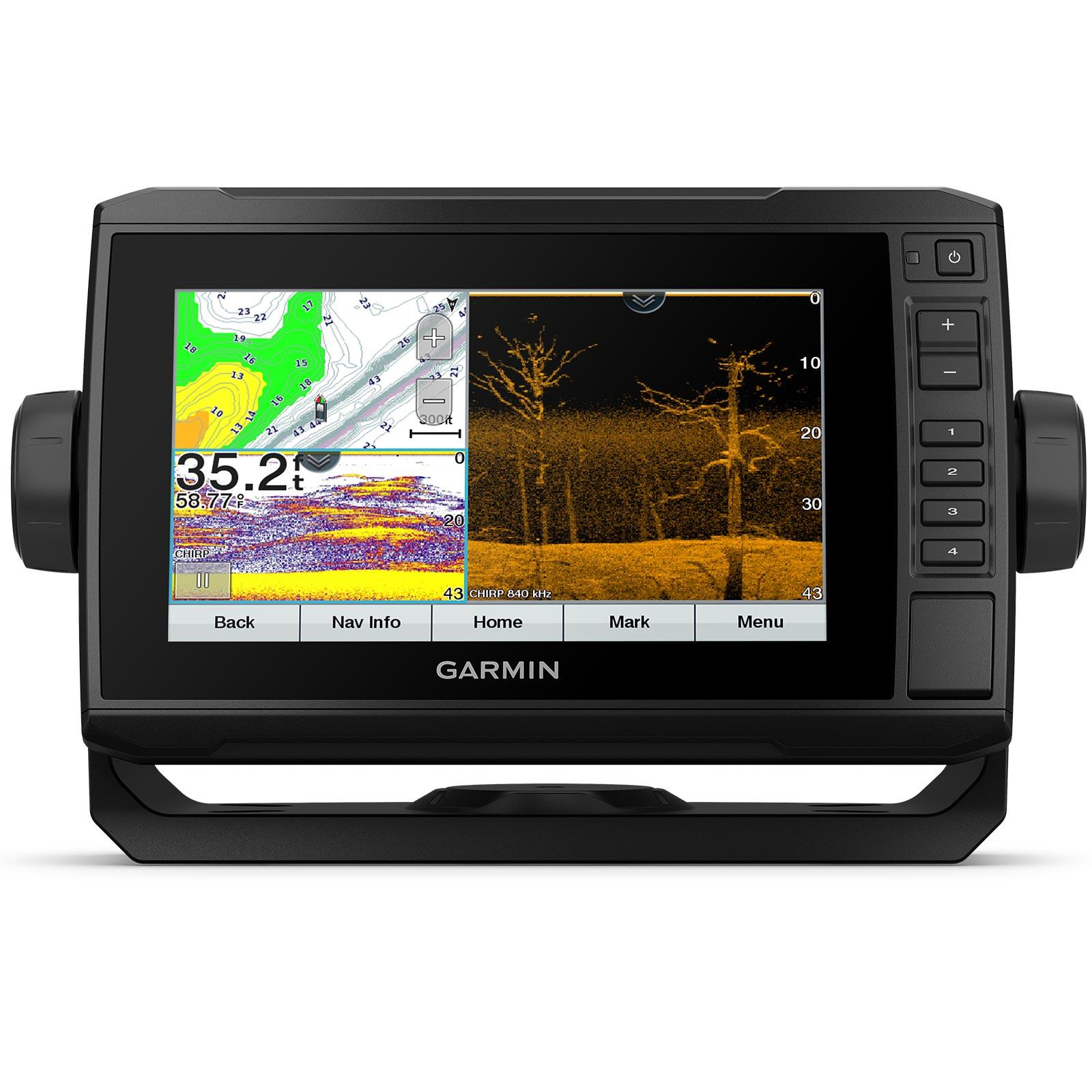Garmin ECHOMAP UHD 73cv with GT24UHD-TM Transducer