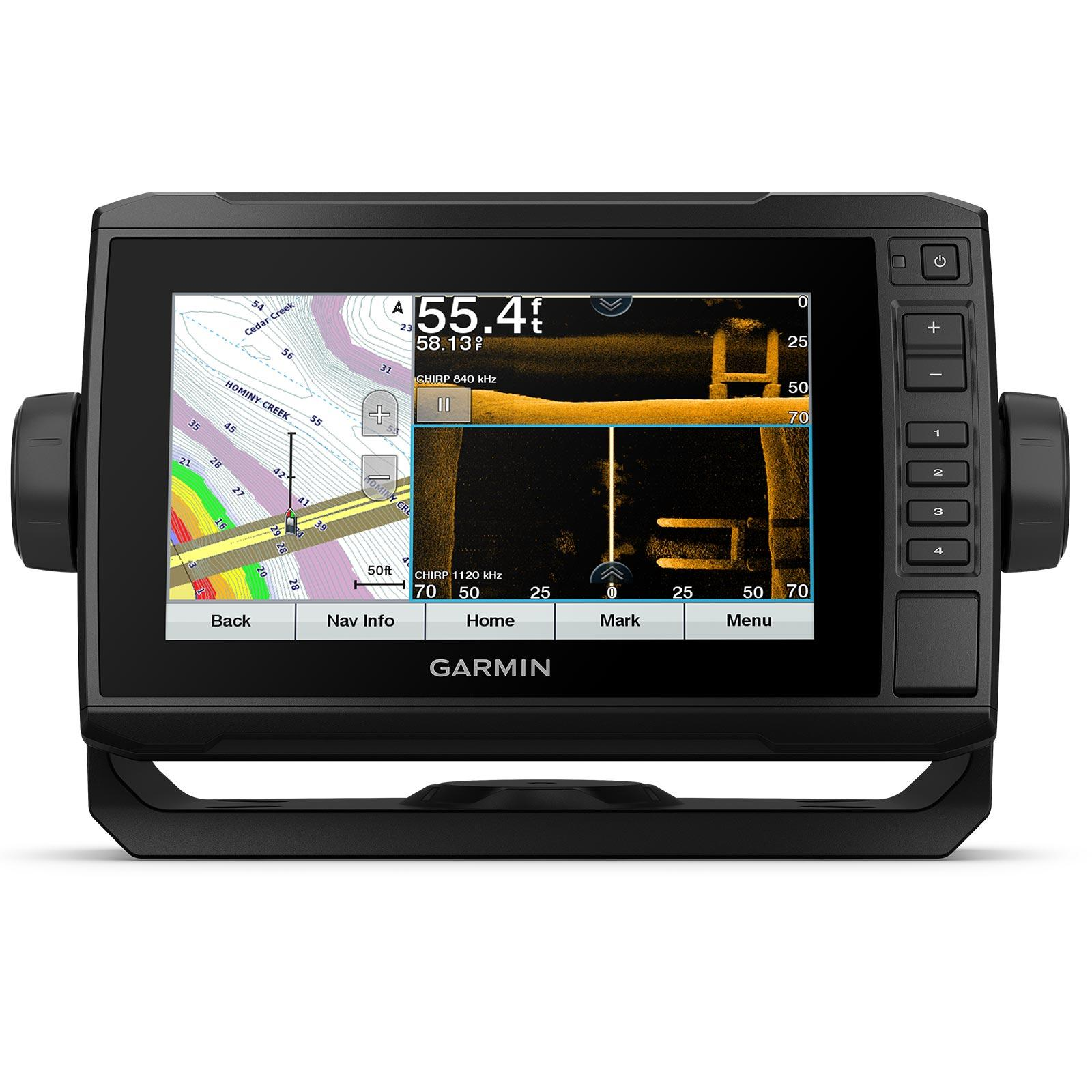 Garmin ECHOMAP UHD 73sv with GT56UHD-TM Transducer