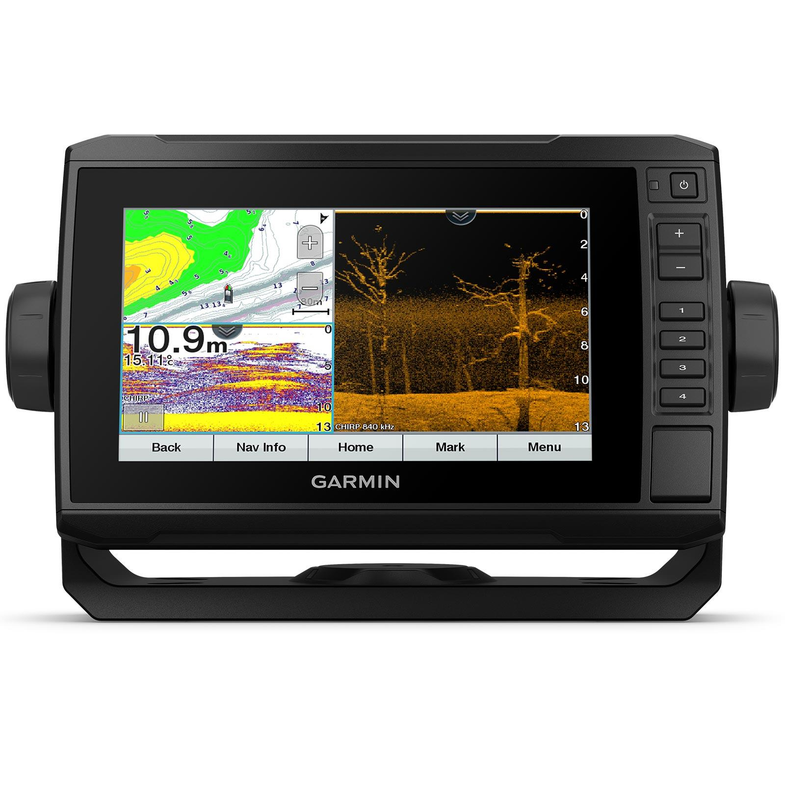 Garmin ECHOMAP UHD 75cv with GT24UHD-TM Transducer