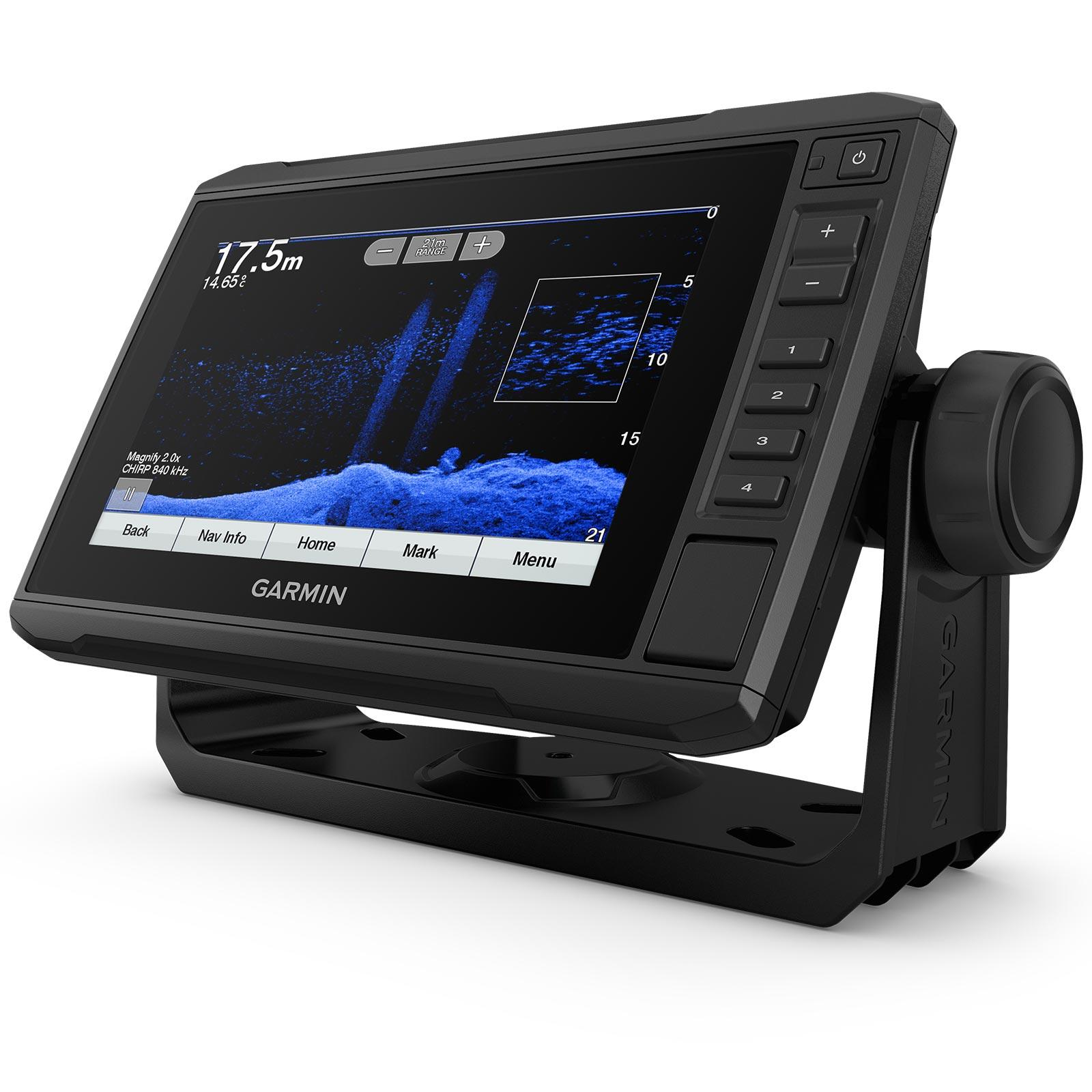 Garmin ECHOMAP UHD 75cv with GT24UHD-TM Transducer Full Screen