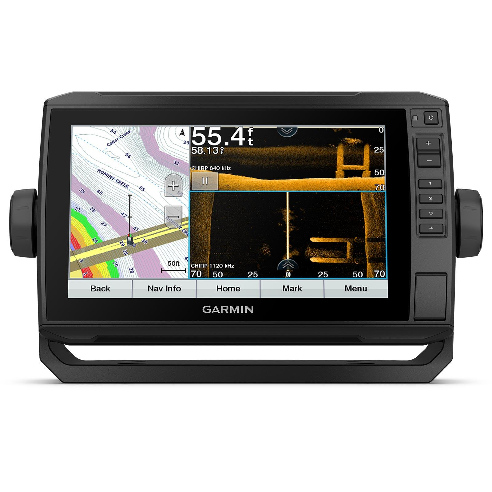 Garmin ECHOMAP UHD 93sv with GT56UHD-TM Transducer