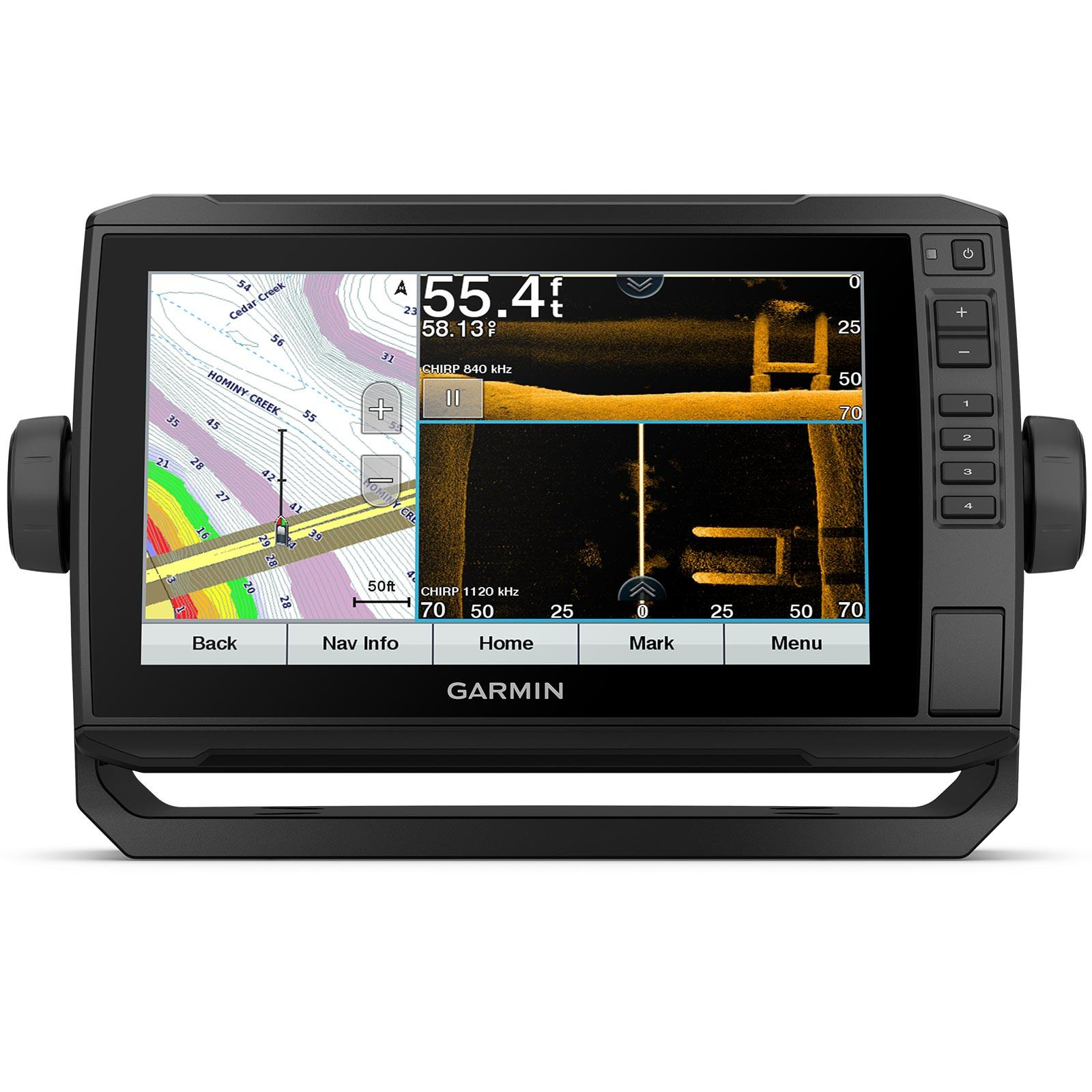 Garmin ECHOMAP UHD 93sv without Transducer Split Screen