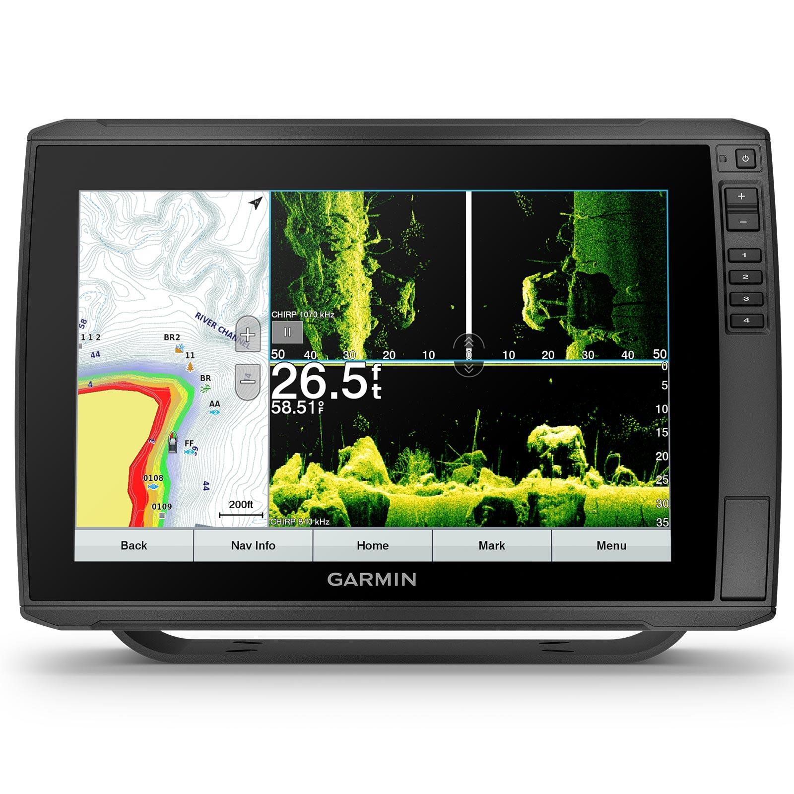 Garmin ECHOMAP Ultra 126sv with GT56UHD-TM Transducer Multi-Screen