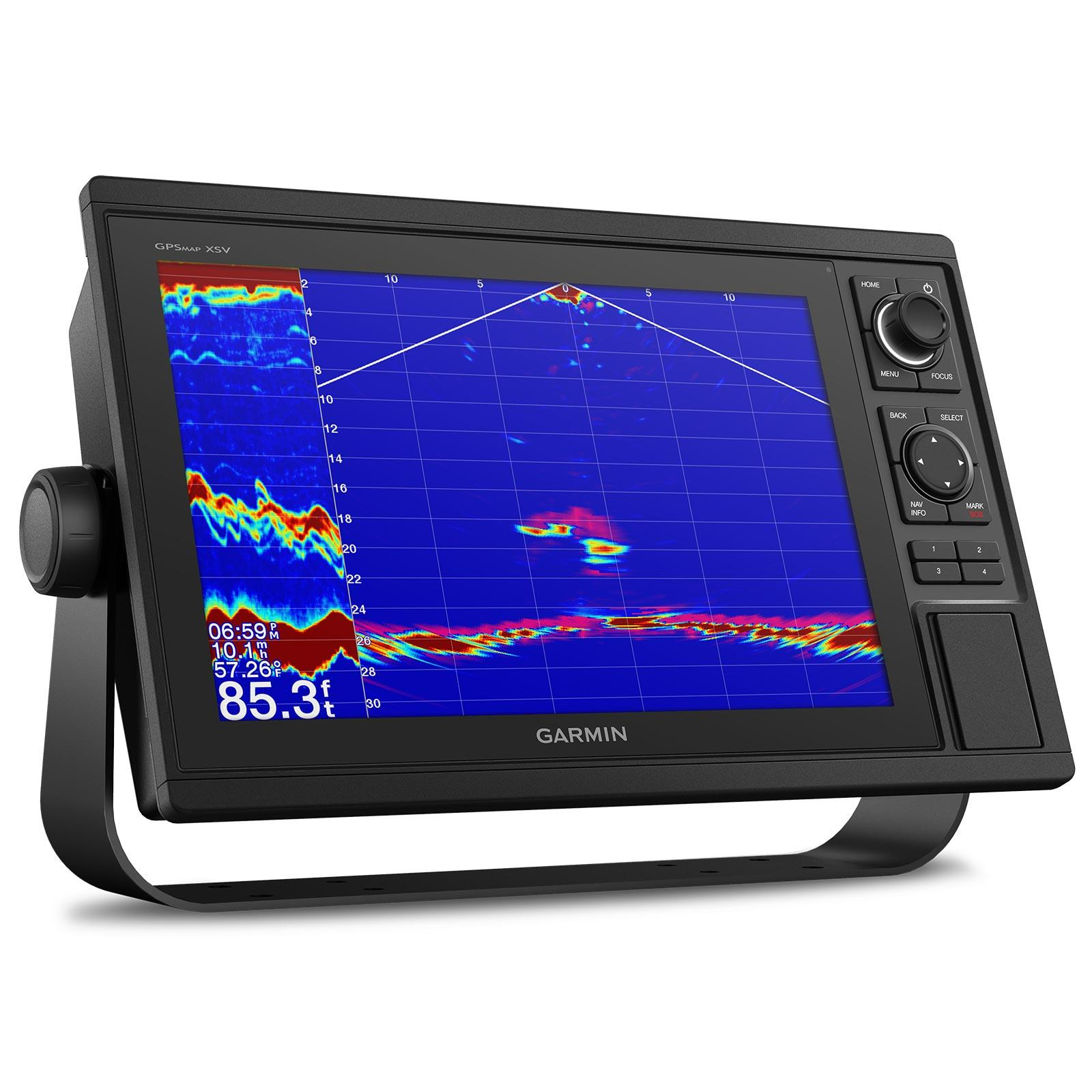 Garmin GPSMAP 1242xsv with GT52HW-TM Transducer In Use