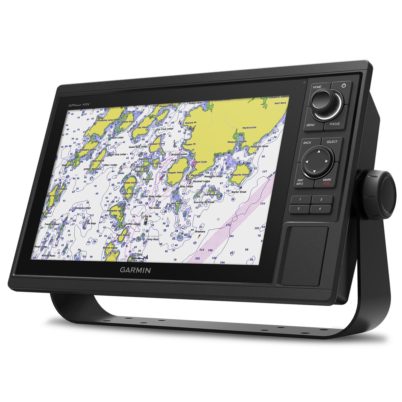 Garmin GPSMAP 1242xsv without Transducer Map