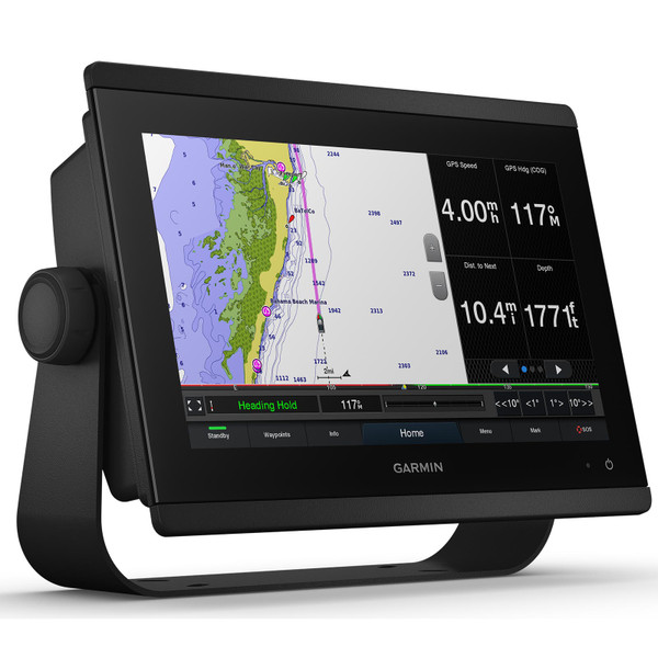 Garmin GPSMAP 8612 with Mapping In Use