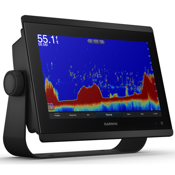 Garmin GPSMAP 8612xsv with Mapping and Sonar In Use