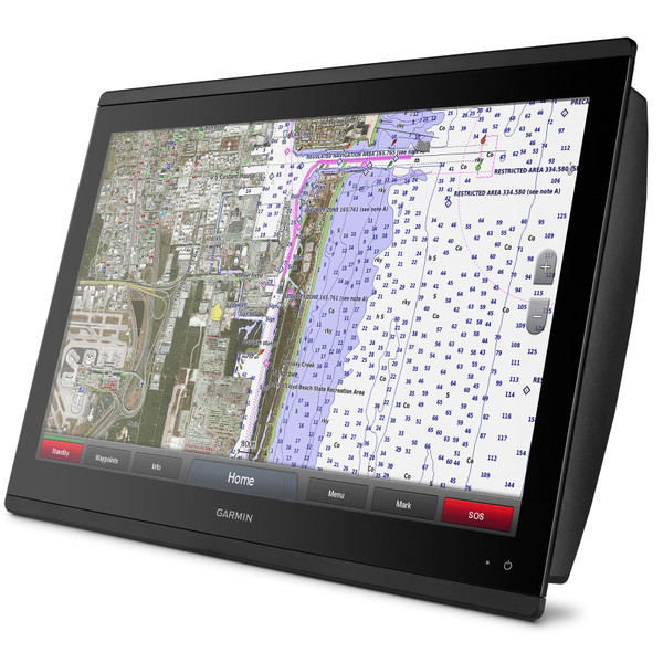 Garmin GPSMAP 8622 MFD with Mapping In Use