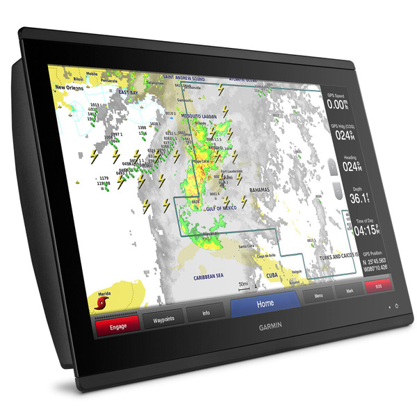 Garmin GPSMAP 8622 MFD with Mapping Weather