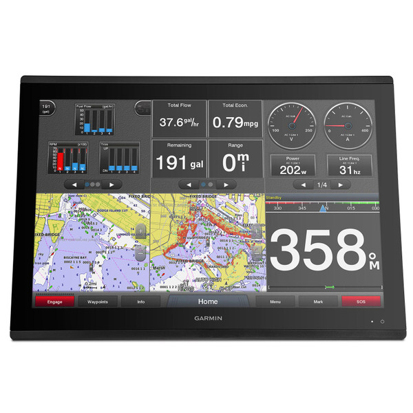 Garmin GPSMAP 8624 MFD with Mapping