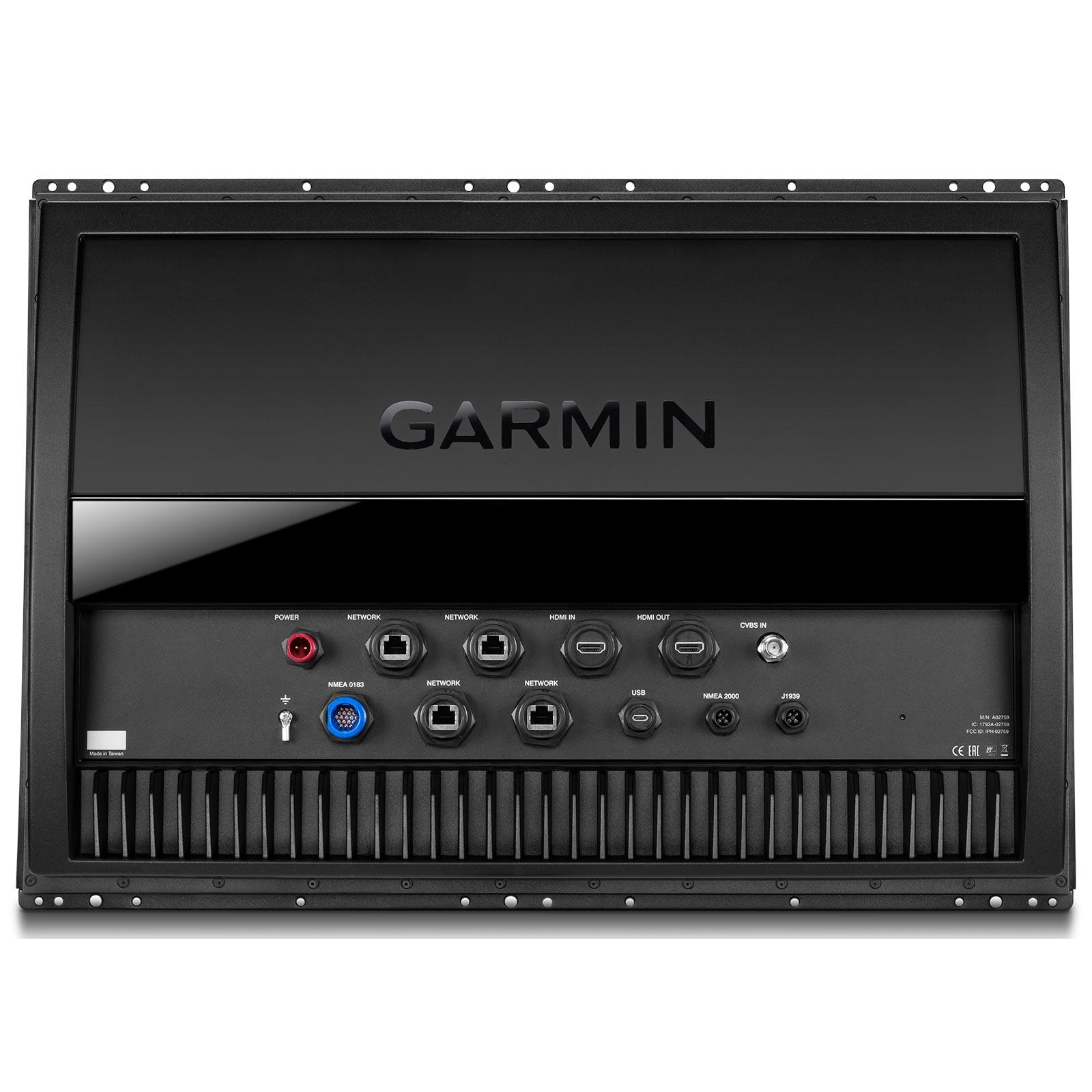 Garmin GPSMAP 8624 MFD with Mapping Back