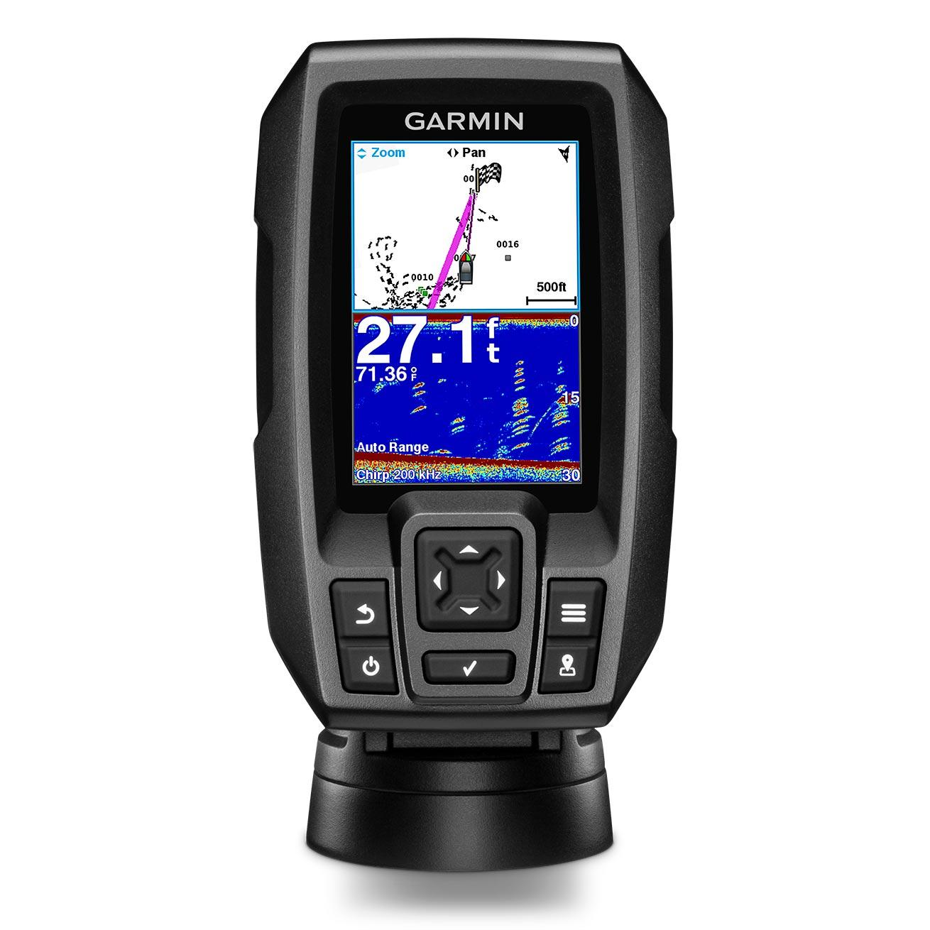 Garmin STRIKER 4 Portable Fishfinder with Dual-Beam Transducer