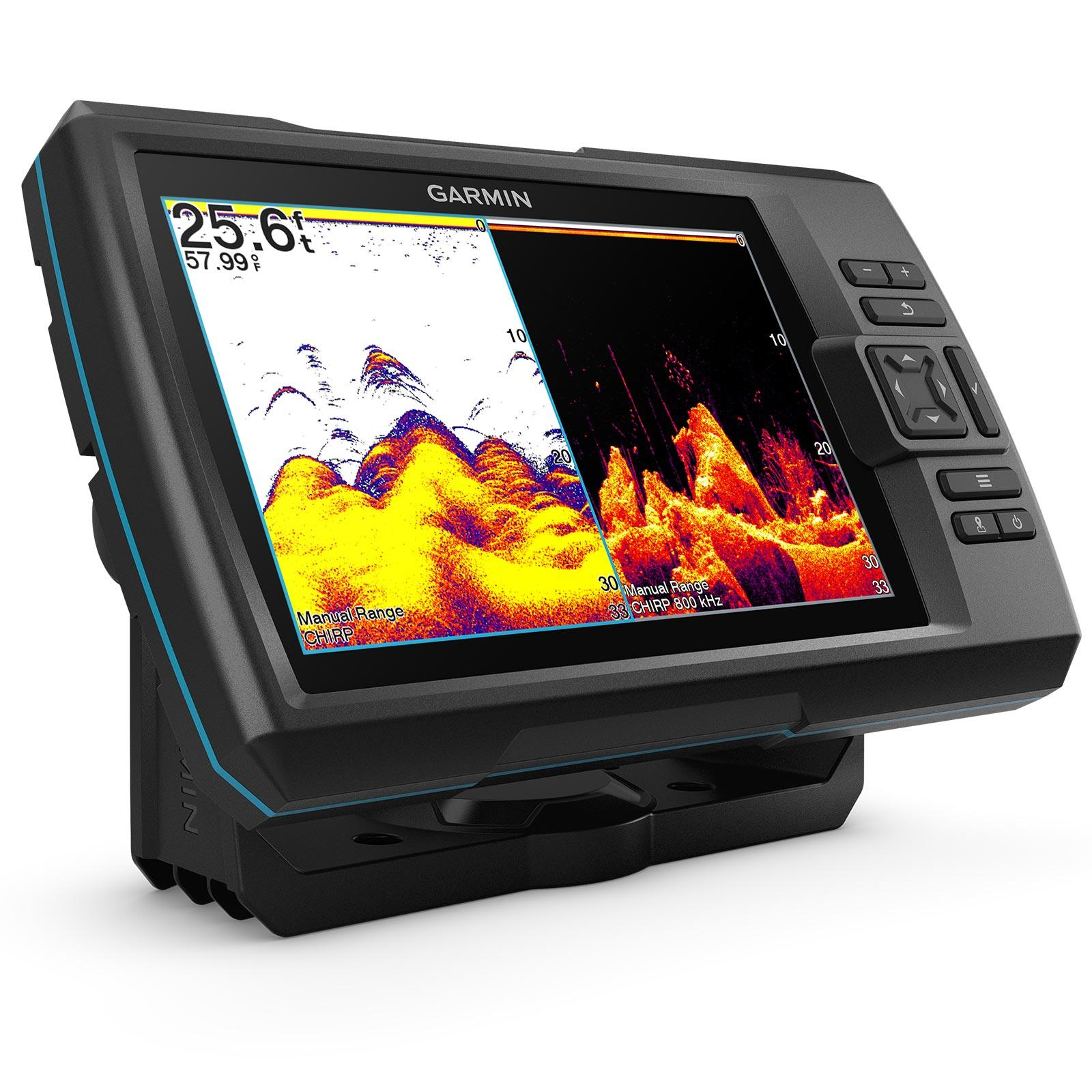 Garmin STRIKER Vivid 7cv with GT20-TM Transducer Split Screen